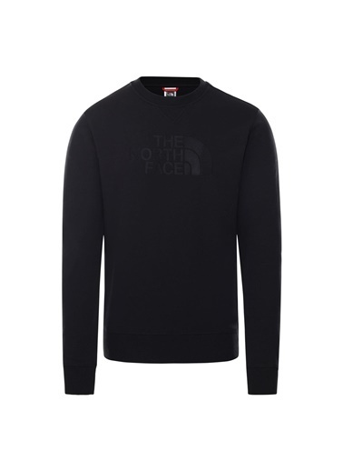 The North Face Erkek Sweatshirt Drew Peak Crew Nf0A4Svrjk31 Siyah
